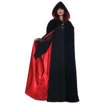 "CAPE DLX BLK/RED 63"" INCH"