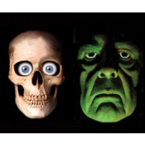 SKULLY AND GREEN DEMON